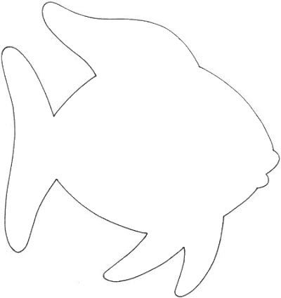 400x425 Best Fish Template Ideas Fish Cut Outs, Fish