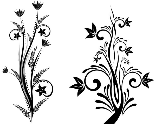 600x479 Simple Flower Designs Black And White Free Download Clip Art