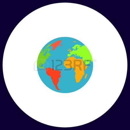 Simple Globe Vector