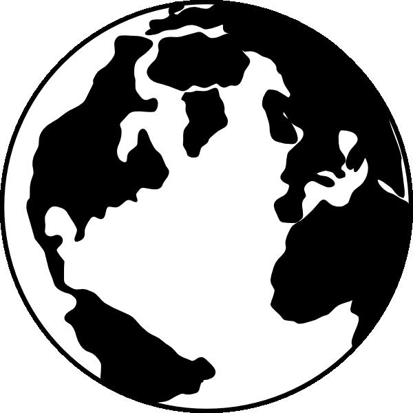 600x600 Earth Clipart Silhouette