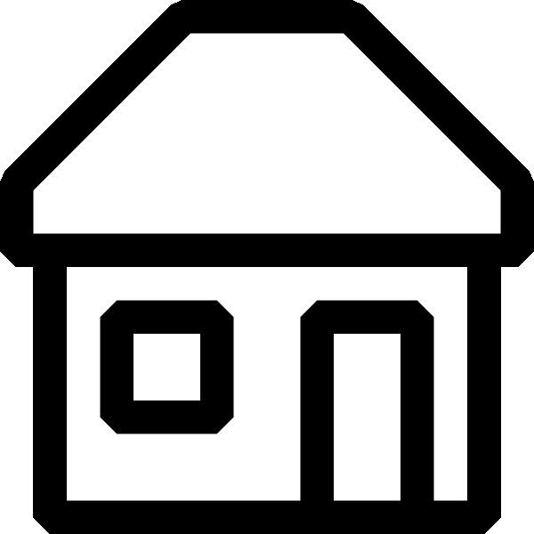 600x600 Top 80 House Clip Art