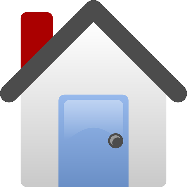 640x640 House, Home, Icon, Simple, Small, Outline, Cartoon