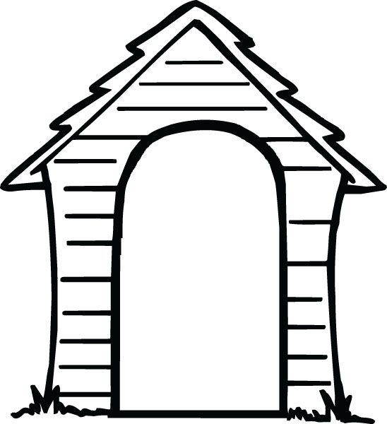 548x600 House Black And White House Black And White House Outline Clipart