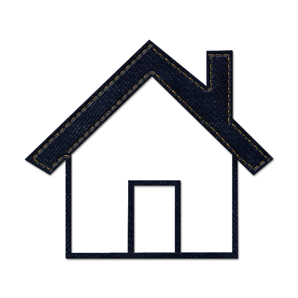 600x600 Simple Home Shape With Solid Roof Outline Icon