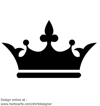 335x355 Kings Crown Clipart Black And White