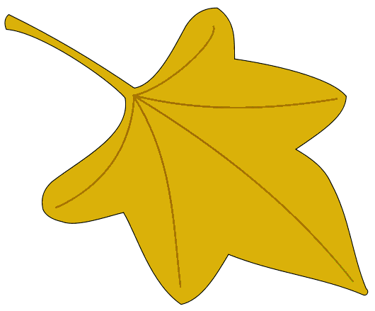 530x439 Leaves Clipart Yellow Leaf