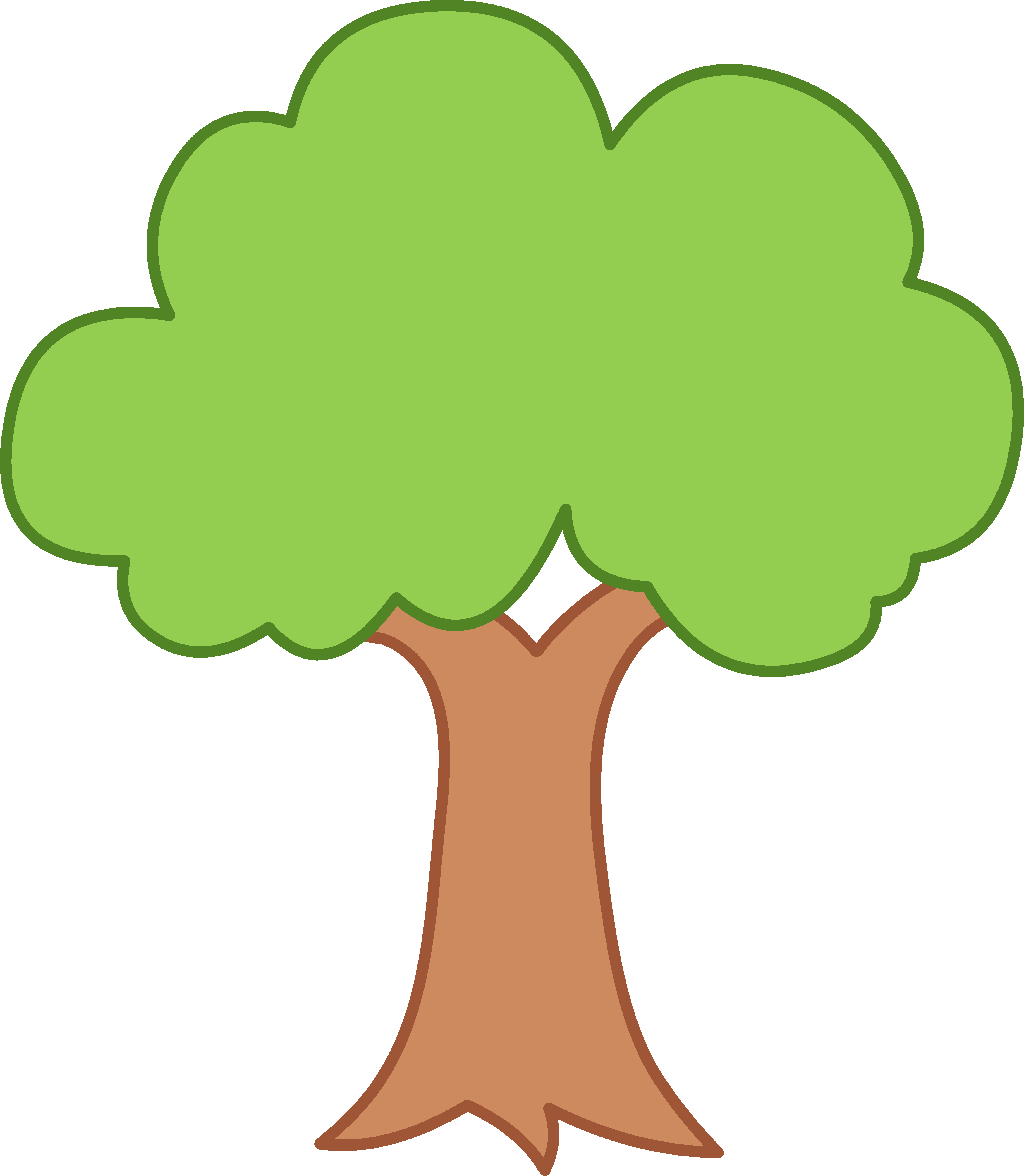 5548x6372 35 Green Tree Clipart. Clipart Panda