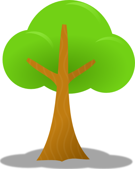 474x593 Simple Tree Clip Art Free Vector 4vector