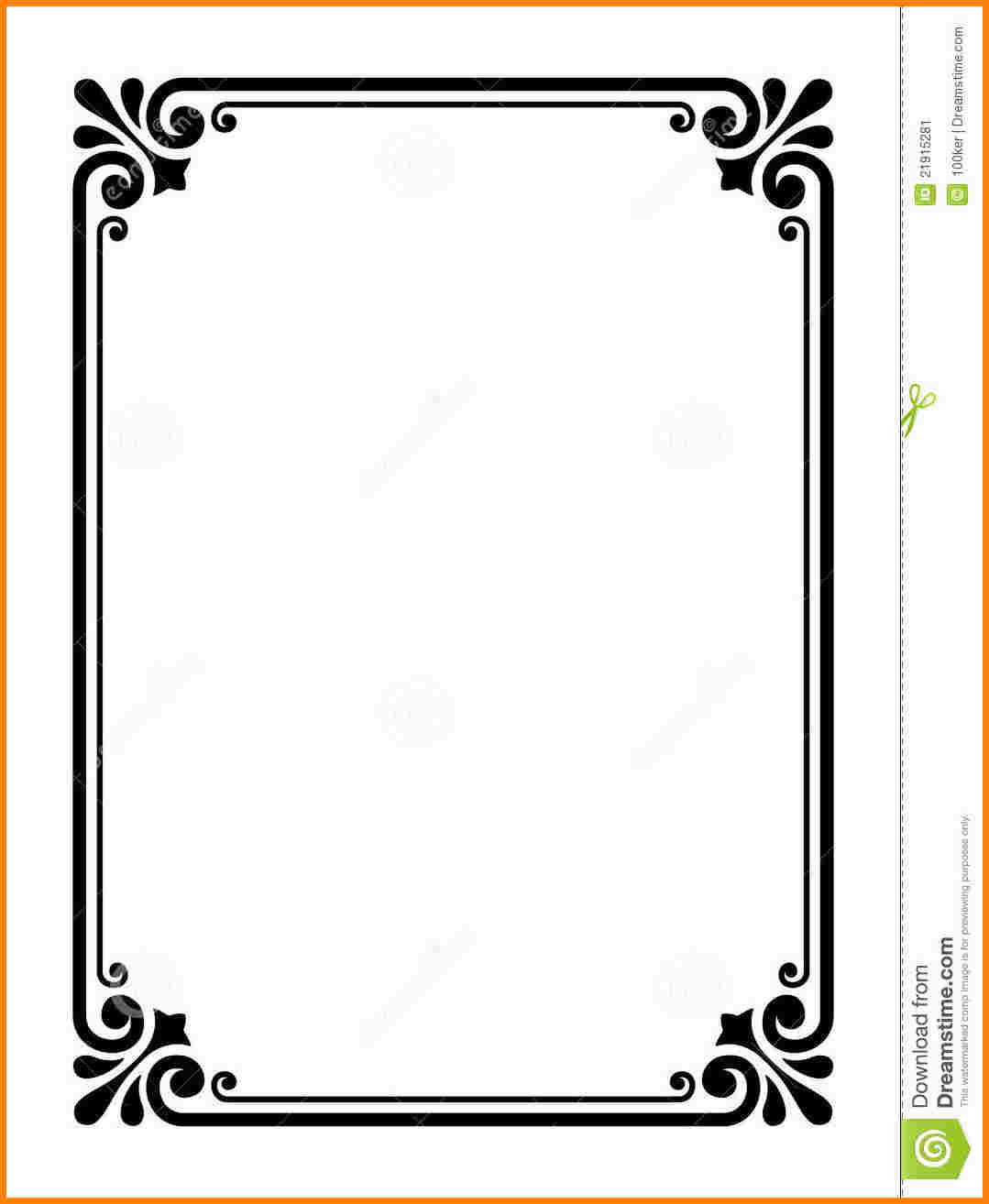 Simple Line Border