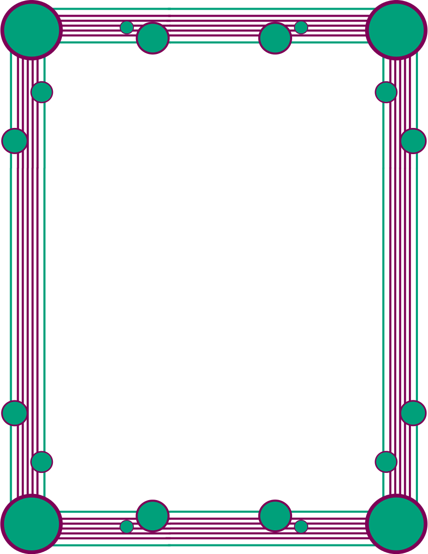 850x1100 Simple Ornamental Clip Art Download