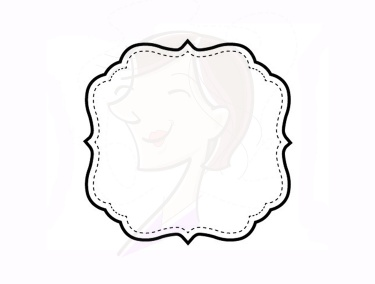 Simple Line Border Clipart