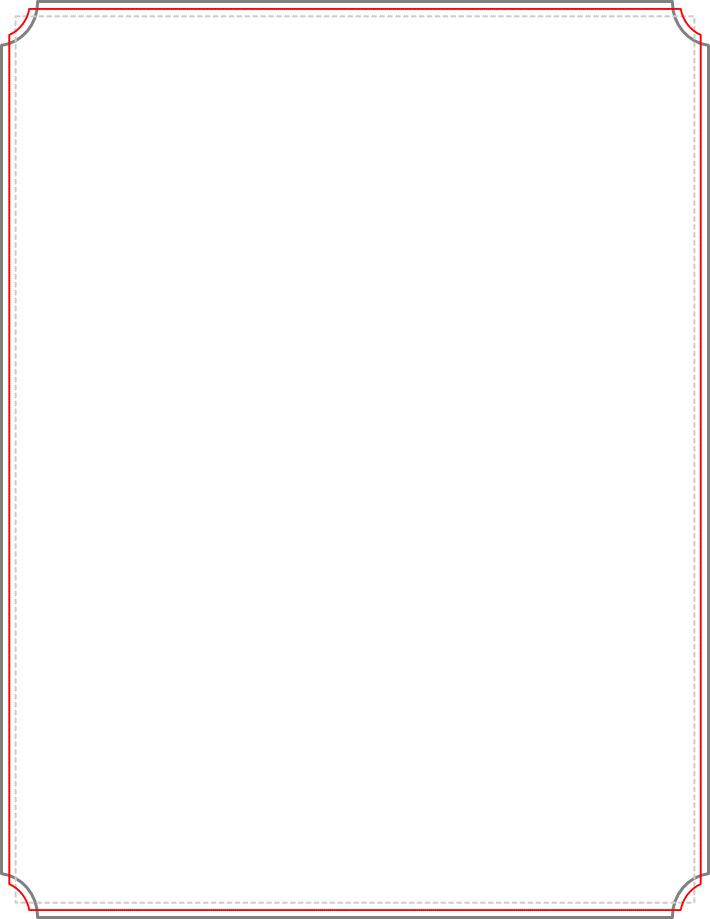 710x919 Red Check Borders Clipart
