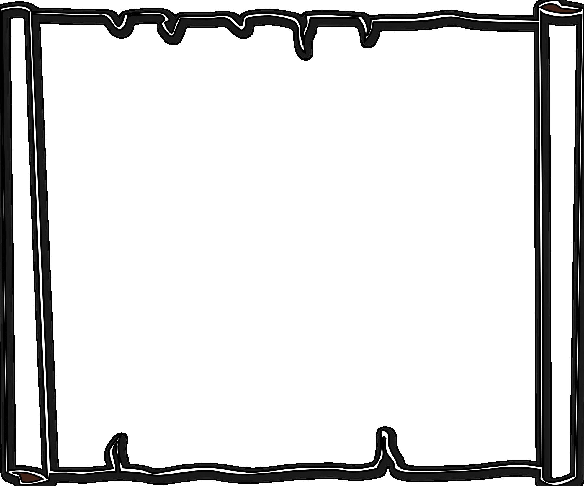 1979x1646 Simple Line Border Clipart
