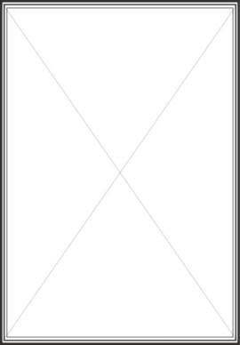 270x388 Double Line Border Clipart