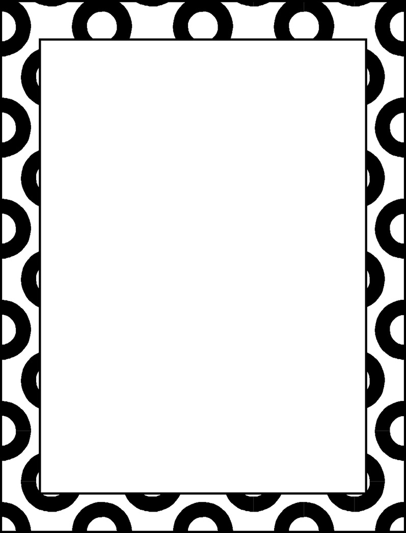 Simple Page Border Designs To Draw | Free download on ...