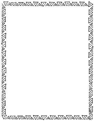 300x388 Free Border Doodle