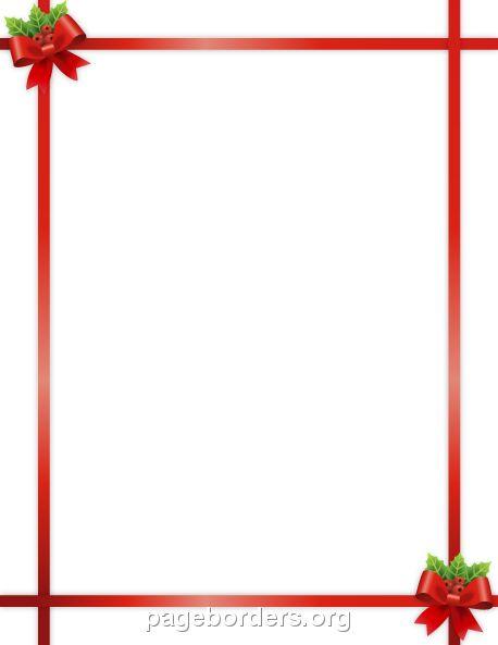 458x593 Best Free Christmas Borders Ideas Christmas