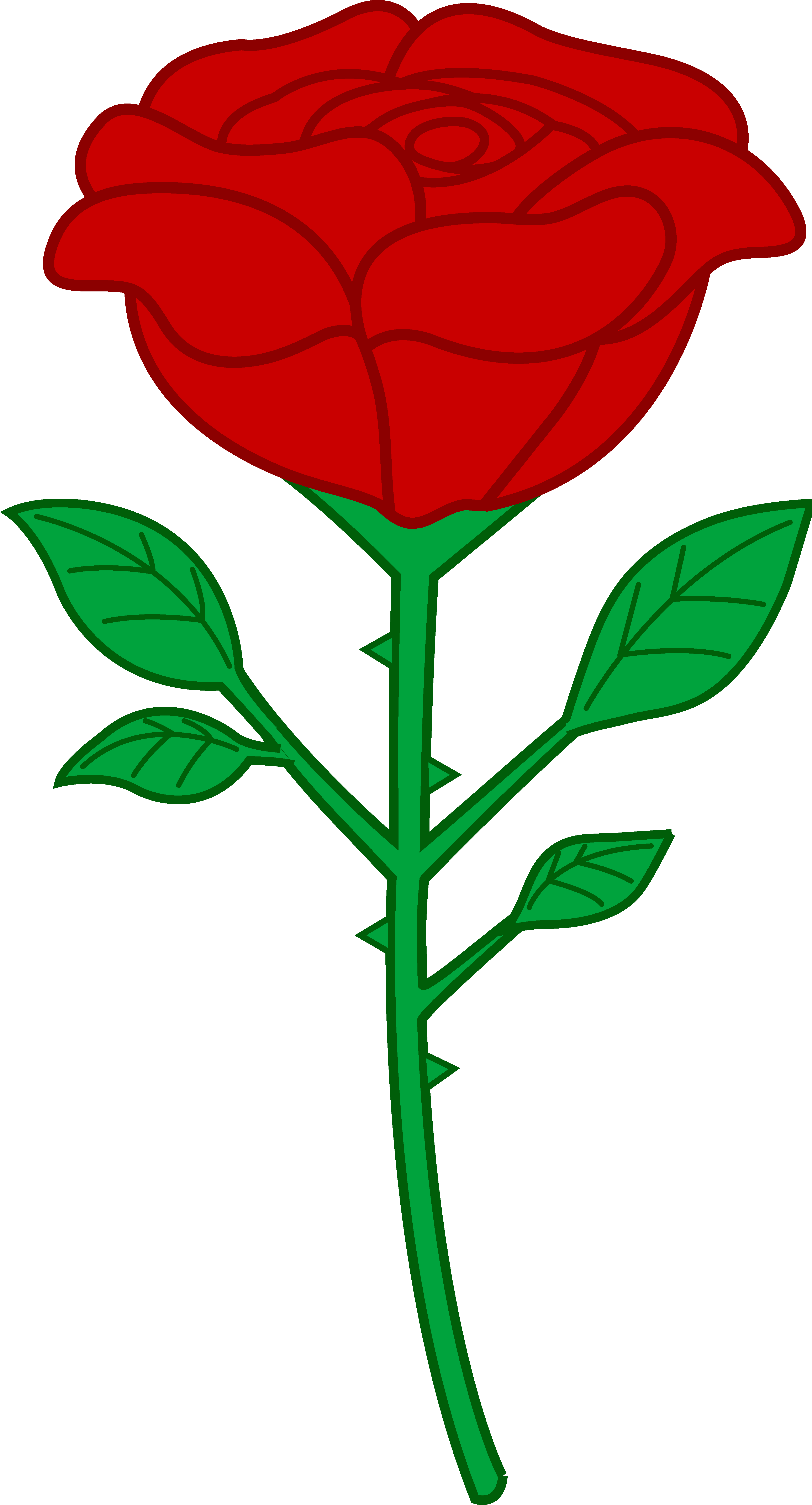 3906x7240 Rose Clip Art Free Clipart Images 4