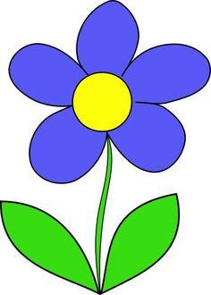 236x330 Cartoon Flowers Clip Art Simple Flower Clip Art