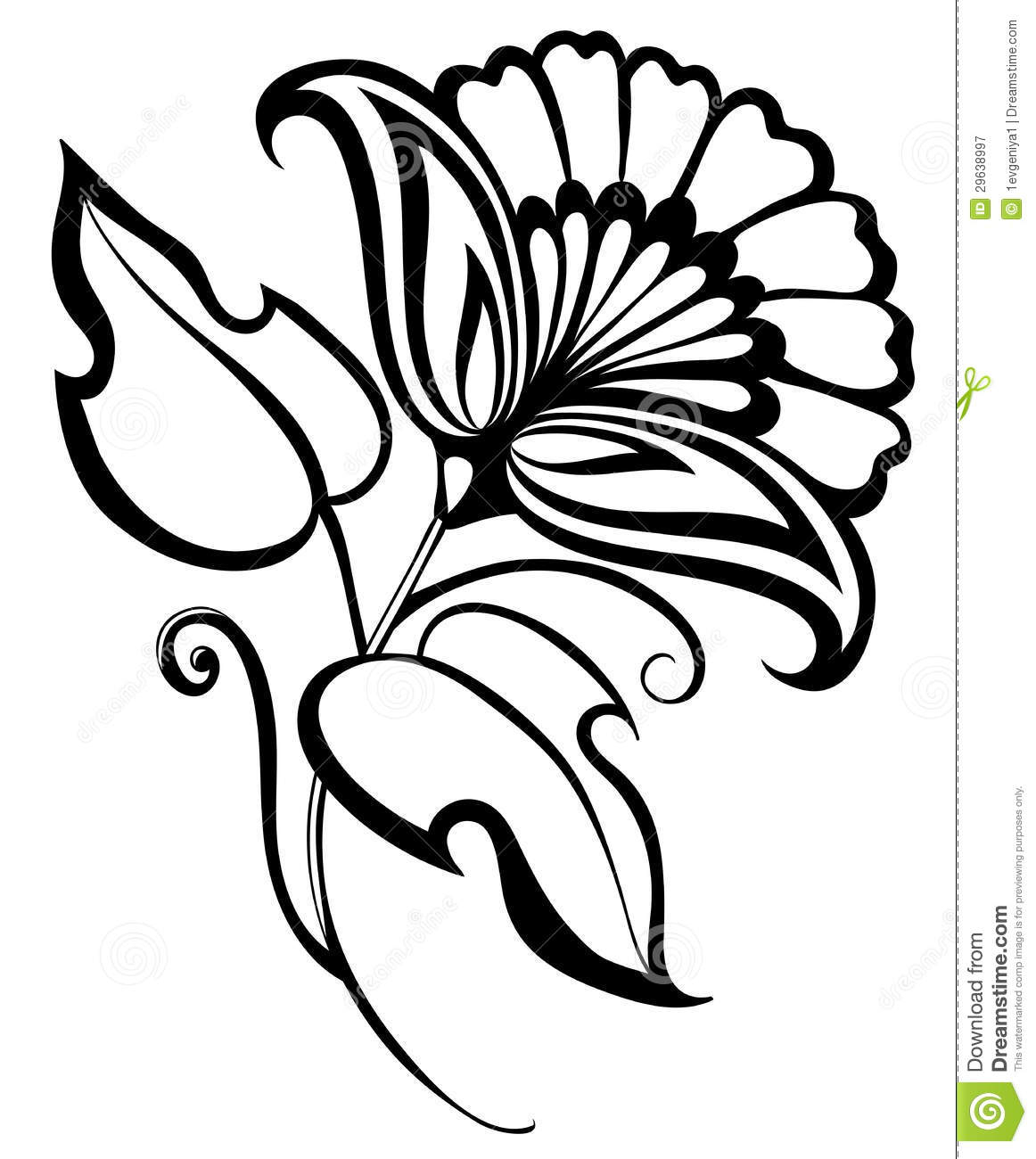 1162x1300 Black White Flower Drawing Simple Rose Drawings In Black