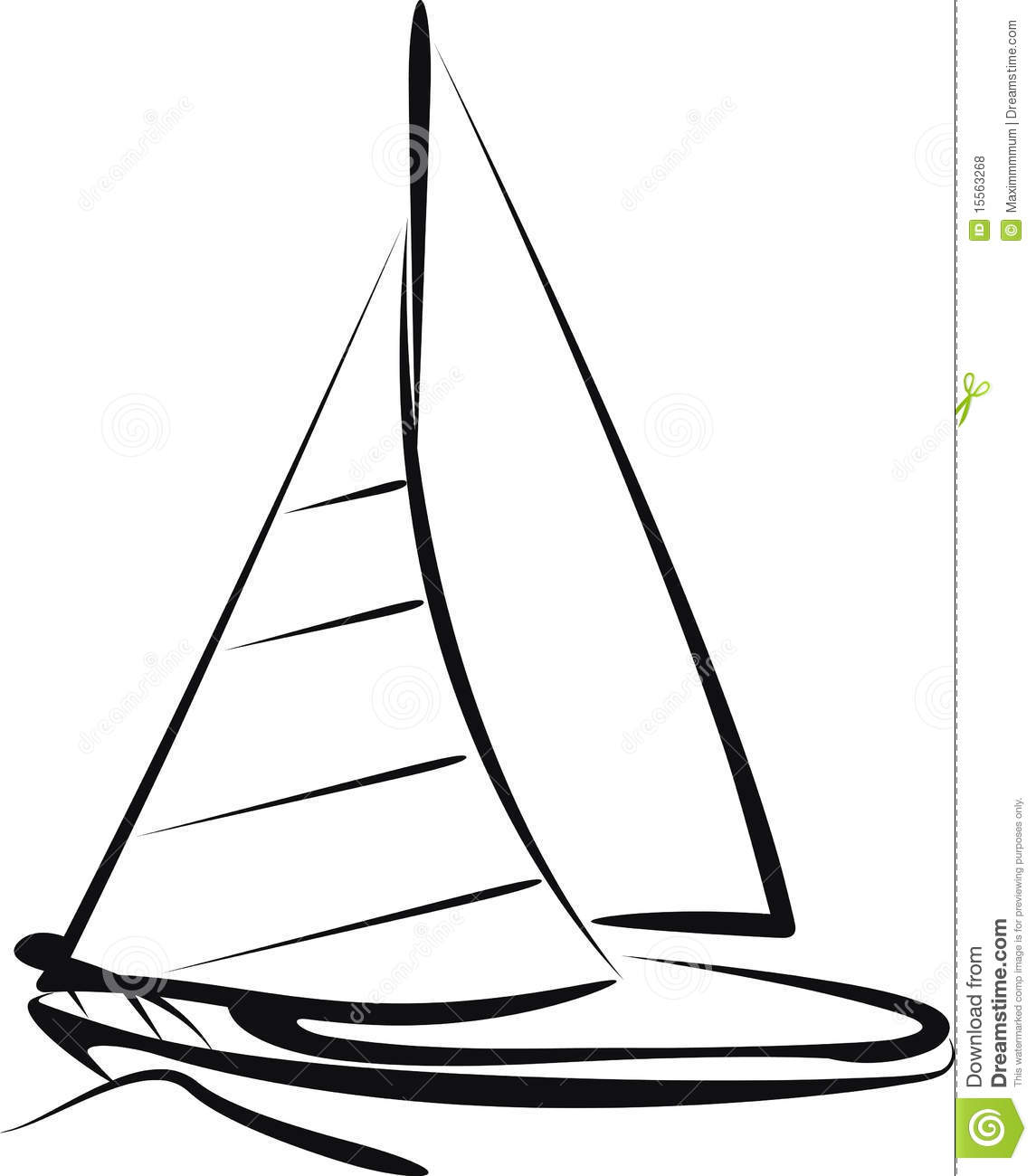1145x1300 Drawn Sailing Ship Simple