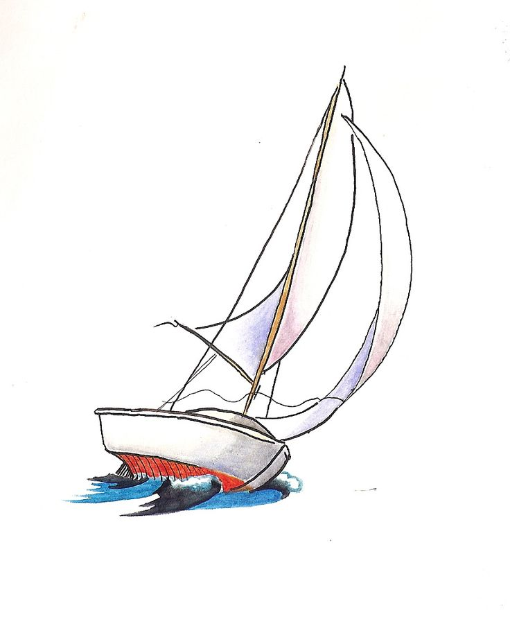 736x903 Photos Simple Boat Sketch,