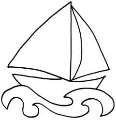 240x250 The Best Boat Drawing Simple Ideas Sailboat