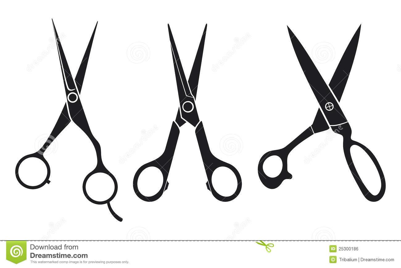 1300x870 Salon Scissors Clipart