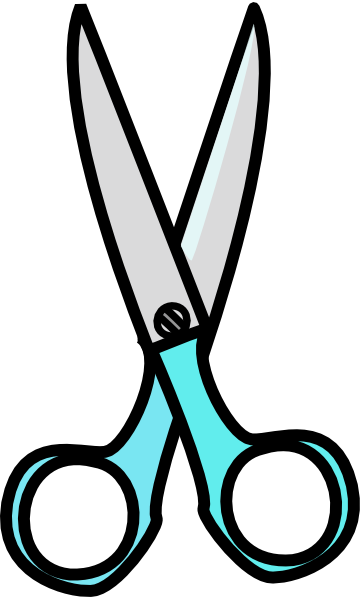 360x597 Scissors Clipart Black And White Free Images 4