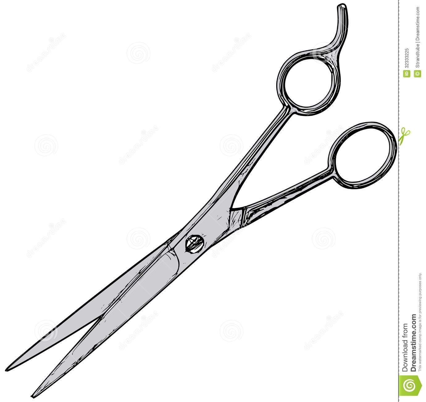 1380x1300 Vintage Hair Scissors Clipart