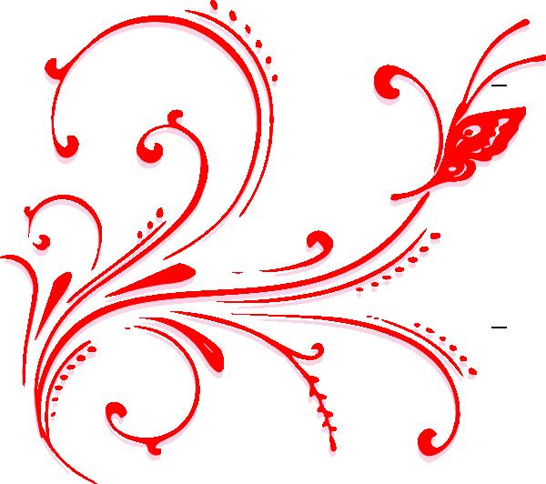 600x532 Simple Scroll Design Clipart