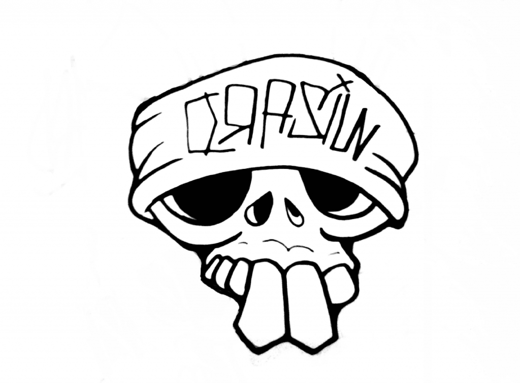 1024x755 Simple Skull Drawing Learn How To Draw A Skull Its So Easy To Draw