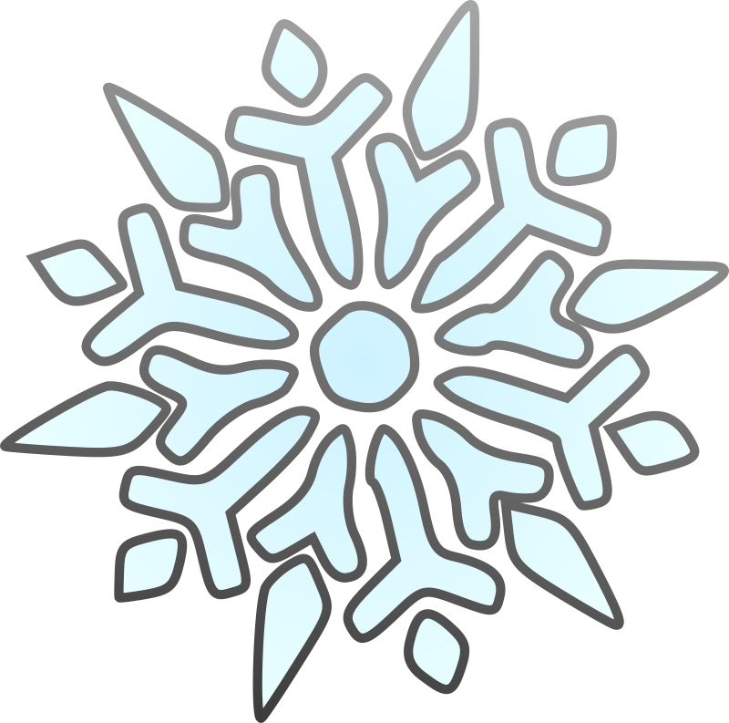 800x793 Free To Use Amp Public Domain Snowflakes Clip Art