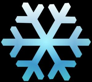 300x267 Snowflake Clip Art