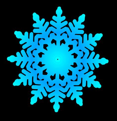 473x489 Clip Art Snowflakes