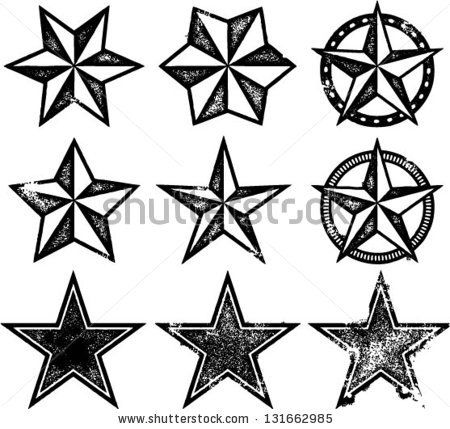 450x429 226 Best Stars Images Drawings, Patterns And Flower