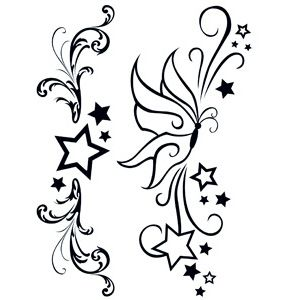 Simple Star Tattoos Designs Clipart Free Download Best Simple Star