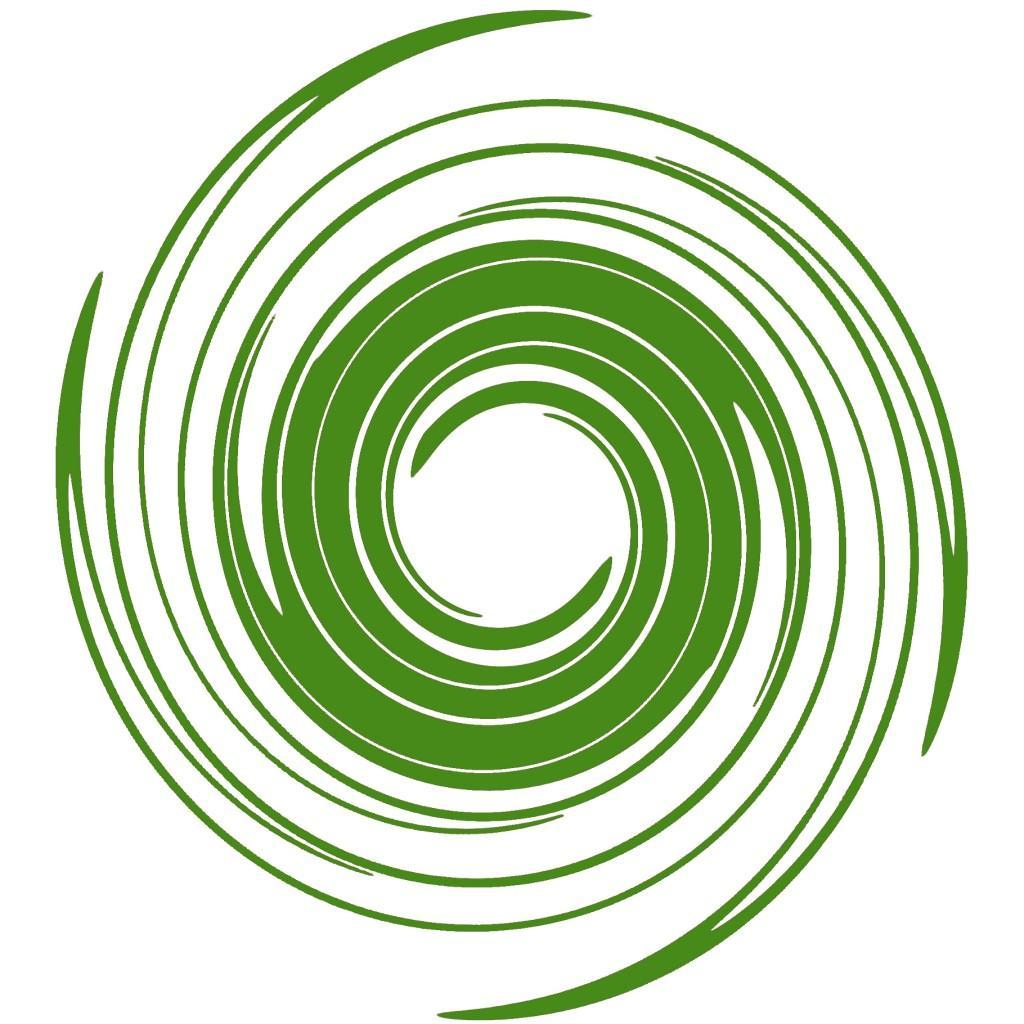 1024x1024 Green Swirls Clip Art