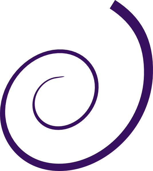 534x597 Simple Swirl Clip Art