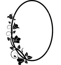 236x248 Circular Swirl Frame. Royalty Free Stock Vector Art Illustration