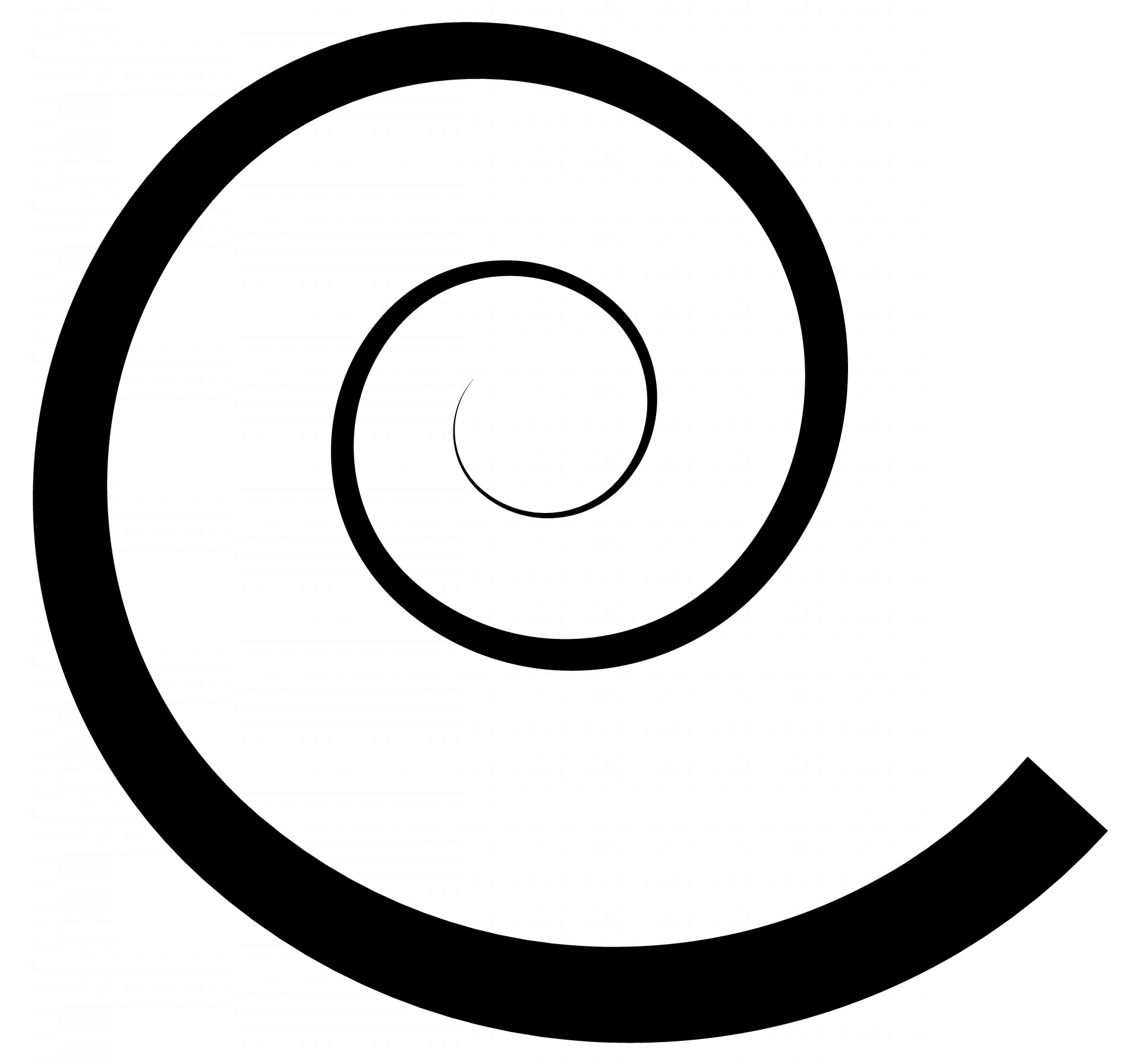 1920x1792 Swirl Clipart Spiral