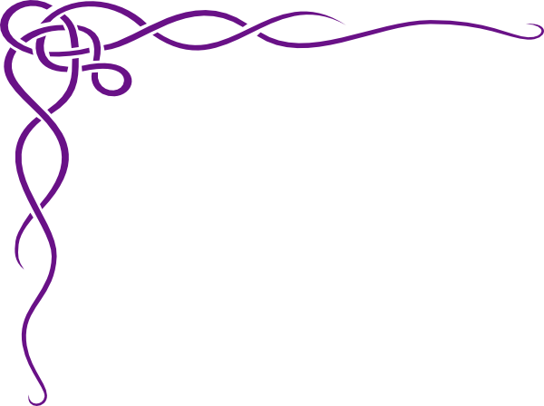 600x448 Corner Swirl Clip Art