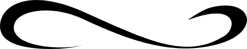 958x193 Swirl Clipart Transparent