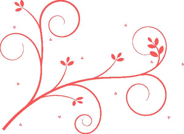 600x435 Pink Swirl Clip Art