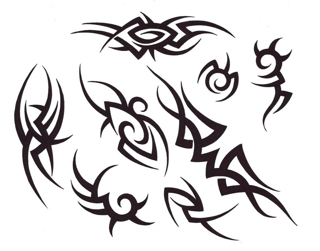 1024x804 Simple Black Tattoo Designs