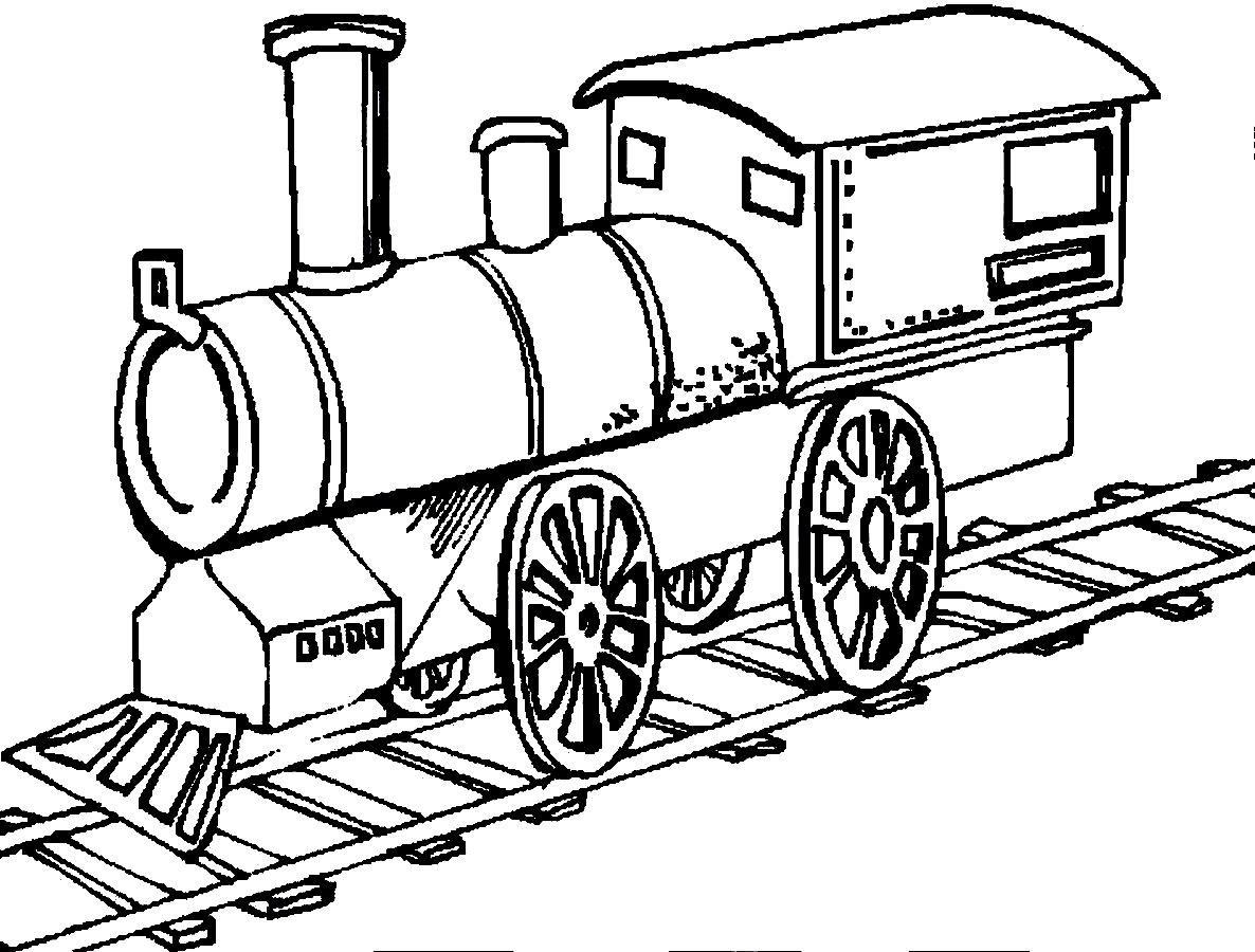 1186x900 Simple Train Coloring Pages Train Coloring Pages Image 20 Ppinews.co