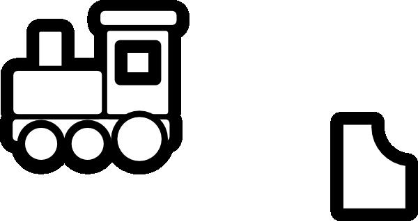 600x318 Train Clip Art