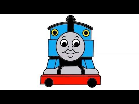 480x360 Drawn Train Simple