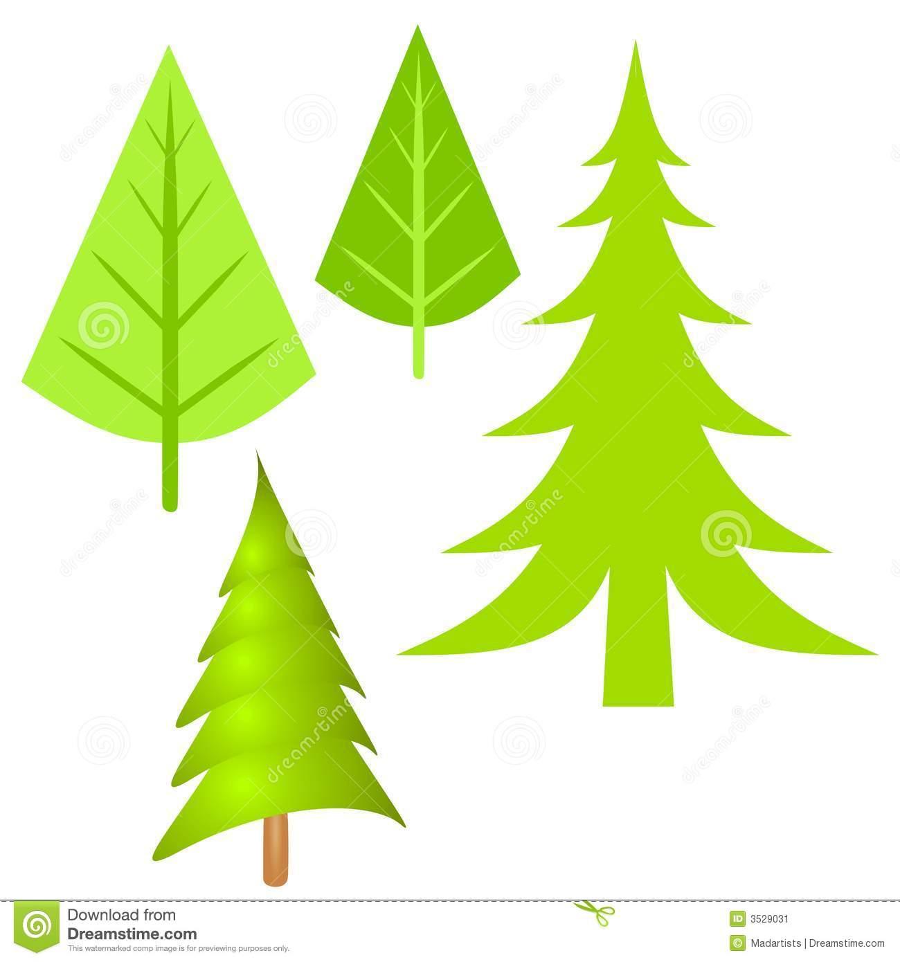 1300x1390 Fir Tree Clipart Simple