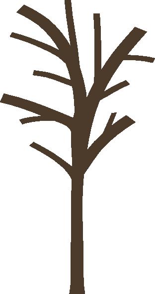 312x591 Bare Tree Clip Art